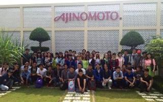 The visiting tour of business administration students to Ajinomoto Vietnam