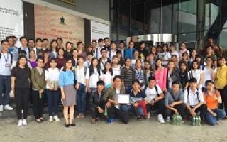 A Field Trip to Tan Hiep Phat Group for Students of Principle of Marketing class